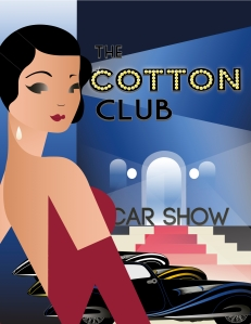This was a recent project I did solely using illustrator. I was inspired by the 1930's (one of my favorite eras) and the Cotton Club in new york!